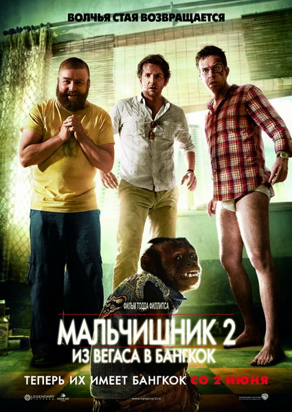 Мальчишник 2: Из Вегаса в Бангкок / The Hangover Part II (2011/Screener)