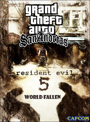 GTA San Andreas - Resident Evil 5 World Fallen (Grand Theft Auto)