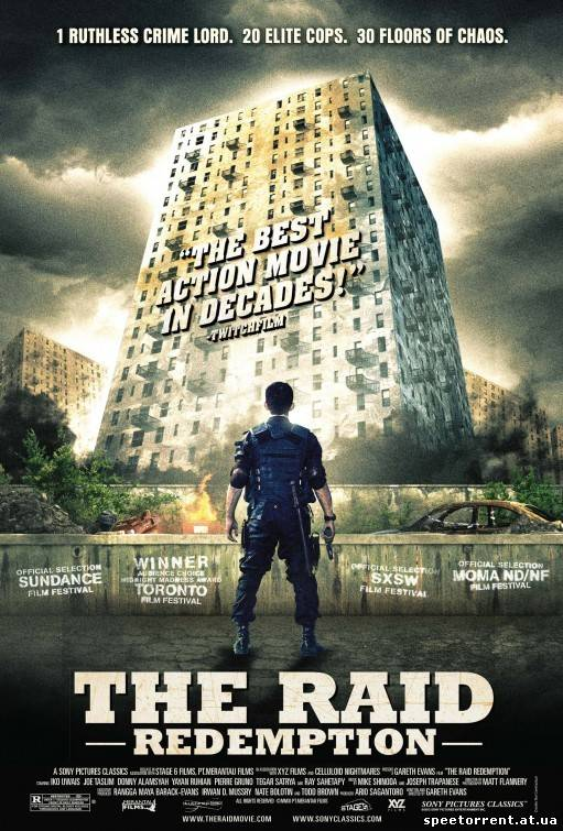 Рейд / The Raid: Redemption (2011/HDTVRip) | L1