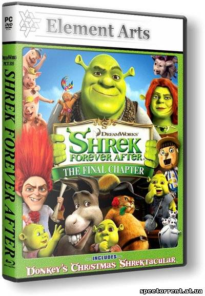 Шрэк Навсегда / Shrek Forever After: The Game (2010) PC | RePack от R.G. Element Arts