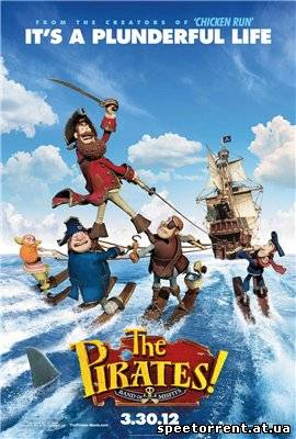 Пираты: Банда неудачников / The Pirates! Band of Misfits (2012) HDRip-AVC | Трейлер