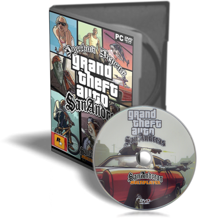 GTA / Grand Theft Auto: San Andreas (2005/ PC/ Русский) | Rip [MultiPlayer Only]