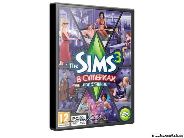 Sims 3: В сумерках / The Sims 3: Late Night (2010/ PC) | Multi / RUS