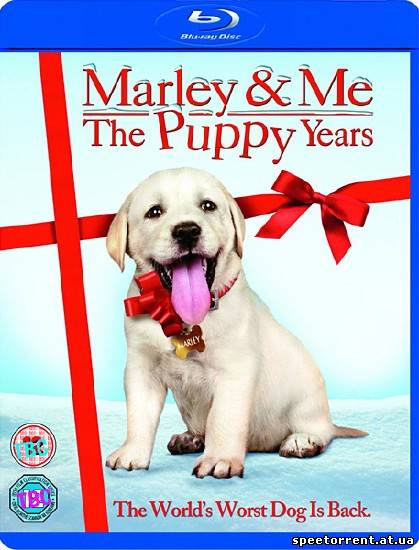Марли и я 2 / Marley & Me: The Puppy Years (2011р) HDRip