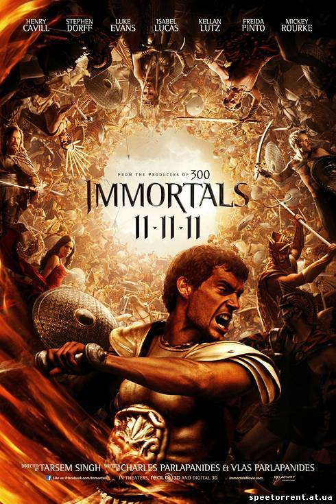 Война Богов: Бессмертные / Immortals(2011(2011/DVDRip)